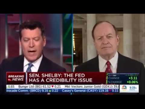 Sen. Shelby Talks to CNBC about Fed Chair Yellen