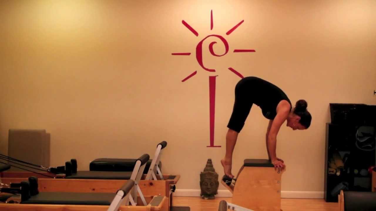 Balanced body pilates chair - Erica Lukes Of Total Body Pilates Pilates Wunda Chair Workout