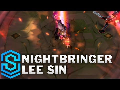 Nightbringer Lee Sin Skin Spotlight - League of Legends