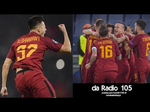 Radio 105 - Roma-Chelsea 3-0 - Radiocronaca di Niccolò Ceccarini & Marco Delvecchio (31/10/2017)