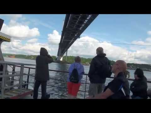 Sightseeing tour along Firth of Forth,Edinburgh,Scotland UK