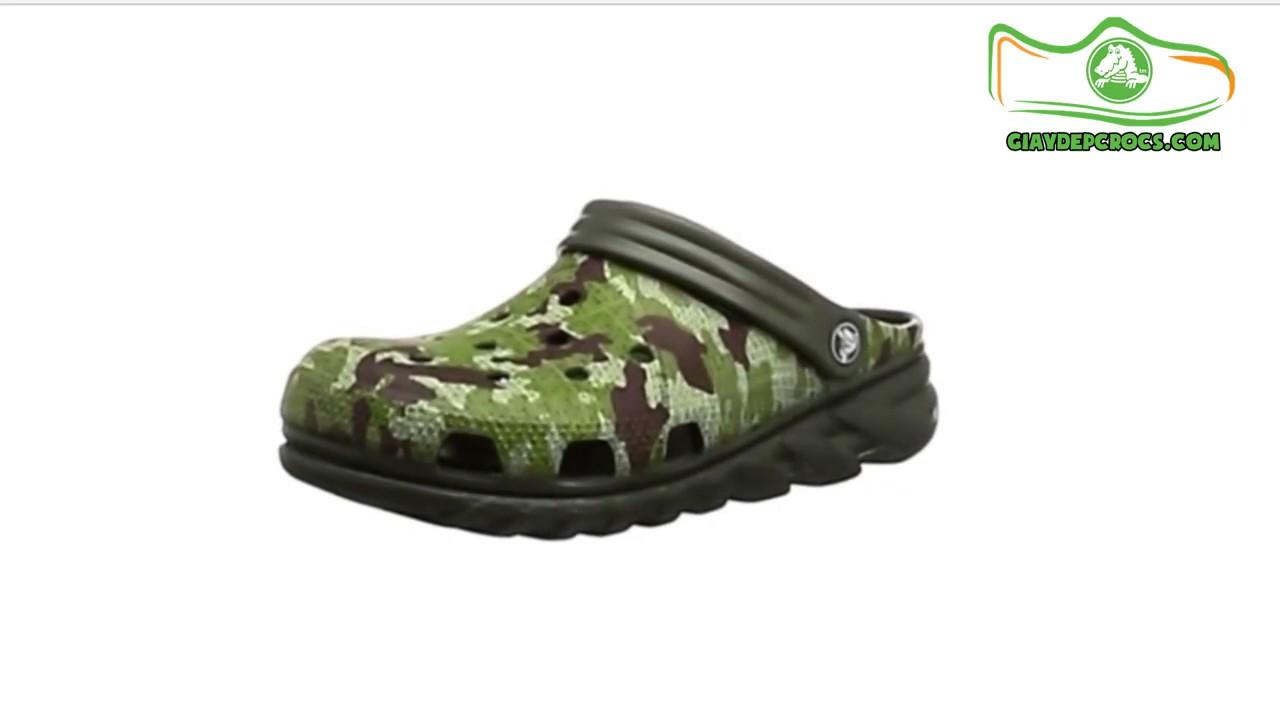 Giày crocs nam mẫu Duet Max camo 5 màu - Giày Crocs 52 Nguyễn Thiện Thuật