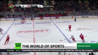 After Controversial Goal, KHL Team Remains Undefeated