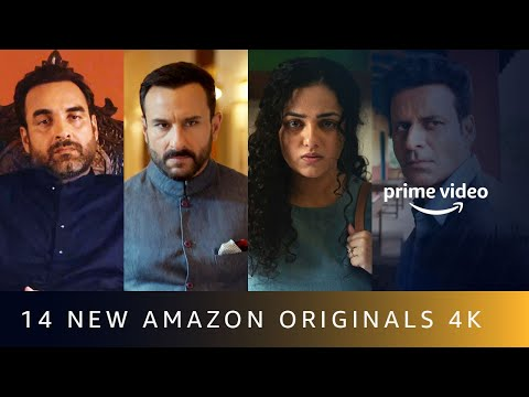 14 New Amazon Originals  | Announcement | Amazon Prime Video | 4K