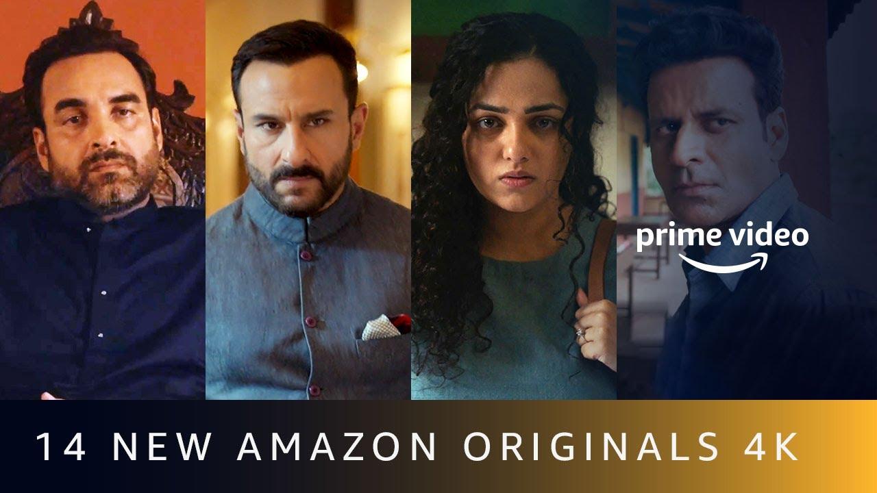 14 New Amazon Originals Announcement Amazon Prime Video 4k Youtube