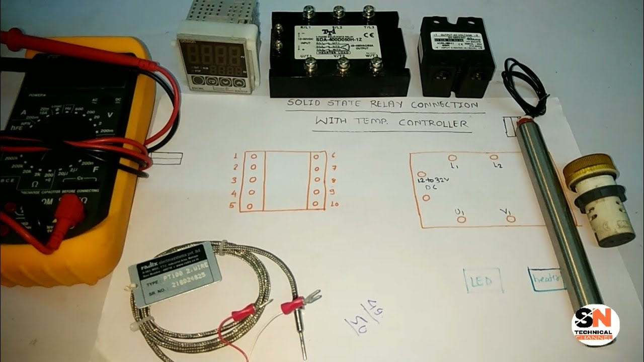 Wiring The Jld 612 Pid Controller With Solid Staterelay