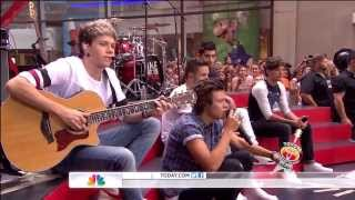 One Direction - Little Things (Live on Today Show) HD