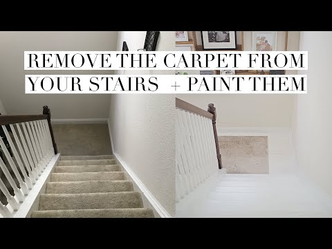 I Removed the Carpet and Painted My Stairs | 1 Year Update