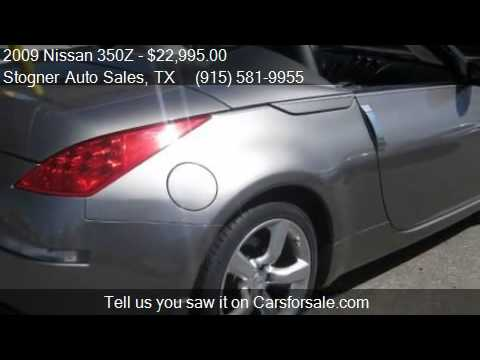 2009 Nissan 350z Touring Roadster For Sale In El Paso Tx 79 Youtube