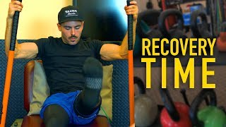 Hip Thrusting My Way To A Healthy Knee | Recovery Time w/ Zac Efron