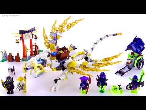 Lego Ninjago Dragon LEGO Ninjago Master Wu...