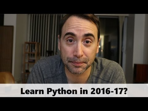Should you Learn Python in 2016-17?