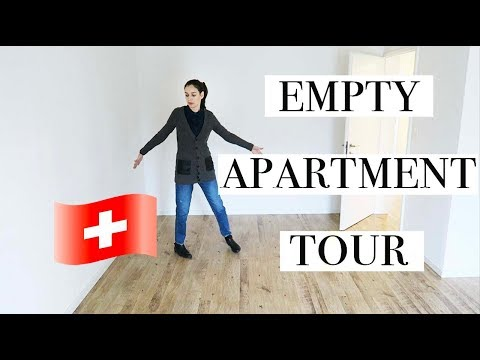 Empty Apartment Tour | Renting in Zurich | Moving to Switzerland | MaryPolka