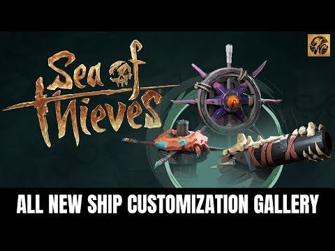 ALL NEW Ship Customization Gallery // Shrouded Spoils Update // Sea of Thieves News