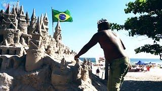 Мужчина прожил  22 года  в песочном замке