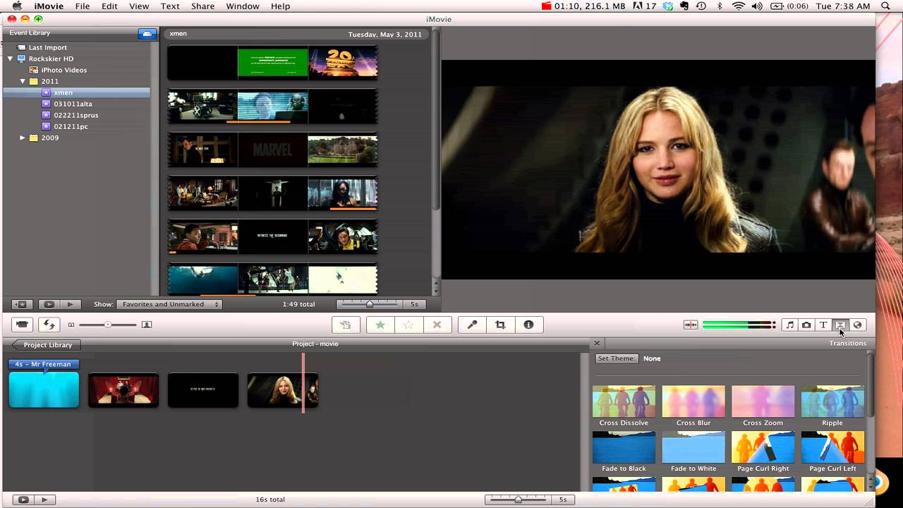 iMovie: titles & transitions - YouTube