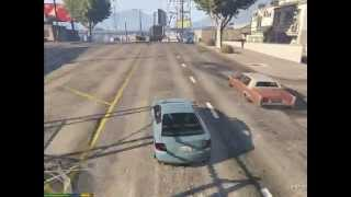 grand theft auto 5 pc version gameplay on hd 6850 (download crack and game torrent links)