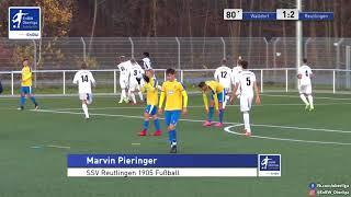 A-Junioren - 1:2 - Marvin Pieringer - FC-Astoria Walldorf gegen SSV Reutlingen 1905 Fußball