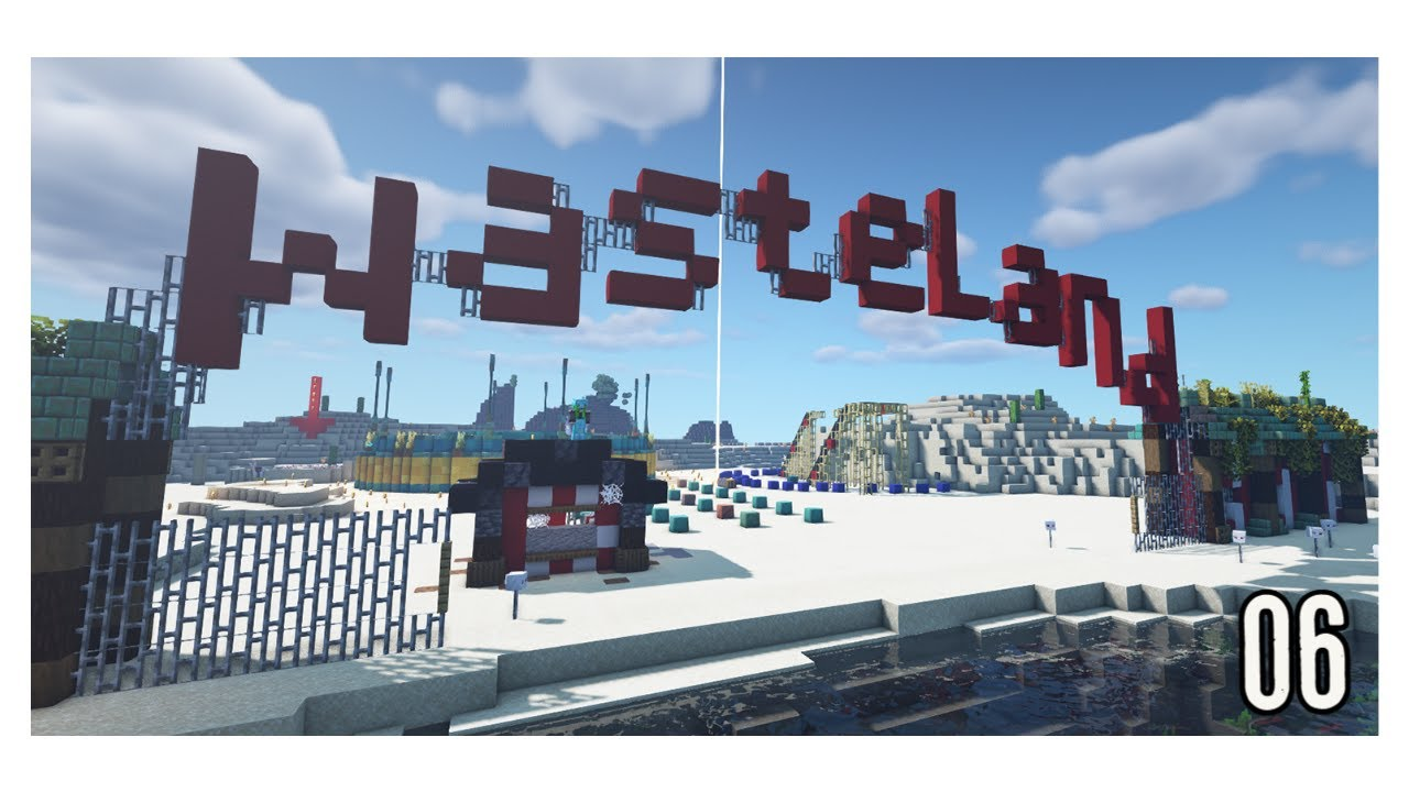Minecraft Legacy SMP Episode 5 - Theme Park Collabs!