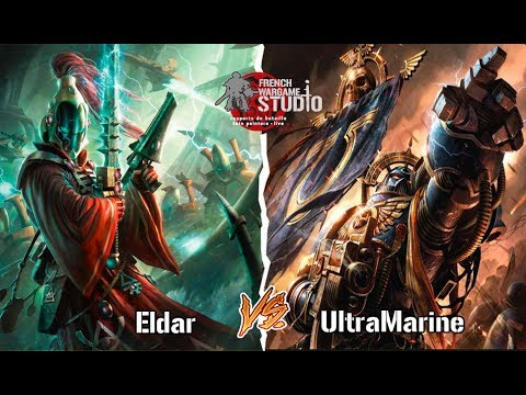 FWS Rapport de bataille Warhammer 40k V7 Space Marine vs Eldar 1500 points