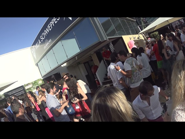 CANNES #2015 VIDÉO BRUT AMBIANCE : Villa Schweppes
