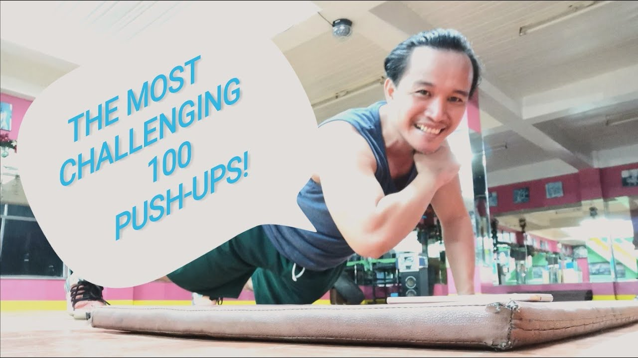 100 PUSH-UPS CHALLENGE ¦ THE MOST CHALLENGING THAT I'VE EVER TRIED ¦ VINCE THE BURPEE PRINCE