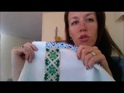 Flosstube #7: Being a naughty stitcher & getting an awesome birthday present