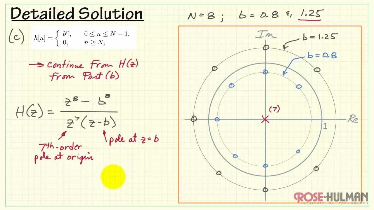 Z-transform Example  2