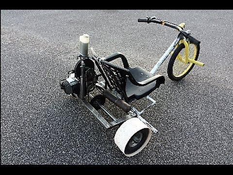 DT2 Drift Trike Con Motore 50cc Ciao Piaggio..Fai Da Te