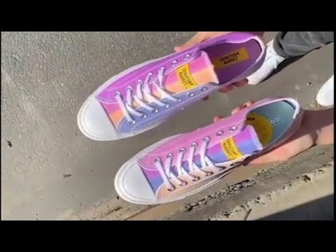 James Burlander - New Trend: Converse Shoes Change Color In The Sun