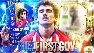 FIFA 19 : GRIEZMANN 97 TOTS Hardcore BUY FIRST GUY ICON SPECIAL 😱🔥