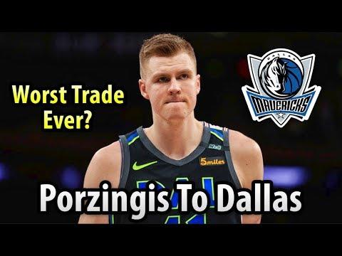 THE KNICKS TRADED KRISTAPS PORZINGIS TO THE DALLAS MAVERICKS!! Worst Trade In NBA History??
