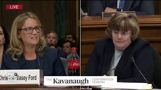 christine blasey ford hearing