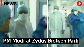 PM Modi reviews Covid-19 vaccine development at Ahmedabad's Zydus Biotech Park