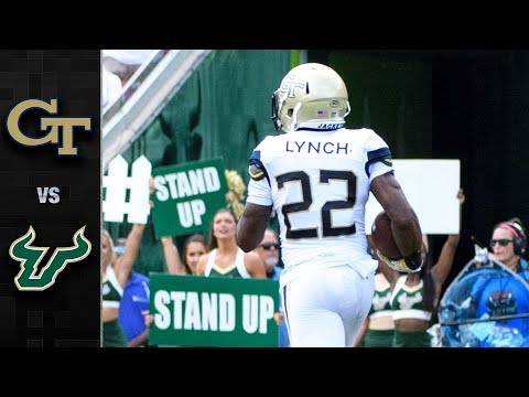 Georgia Tech vs. South Florida Football Highlights (2018)
