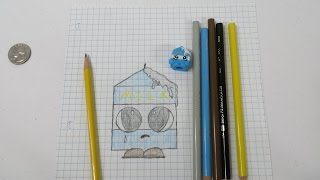Learn How To Draw Shopkins Spilt Milk With Paul PSToyReviews
