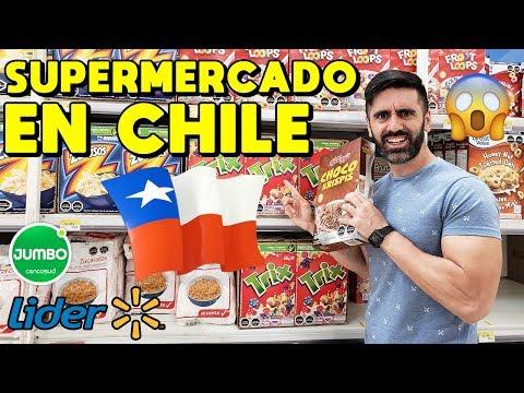 SUPERMERCADO EN CHILE ??? Argentinos reaccionan a un supermercado chileno
