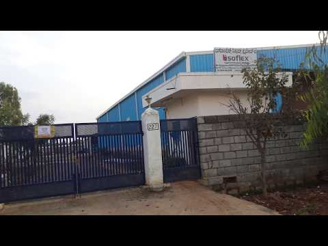 Industrial land with 3 sheds for sale in Malur, KIADB, Bangalore