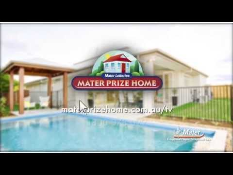 Mater Prize Home Lottery No. 253 | Sunshine Coast and Melbourne