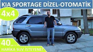 #KIA #SPORTAGE 2.0 CRDI-OTOMATİK 4WD (2007) HER ŞEYİ YAPIYOR AMA GİTMİYOR!