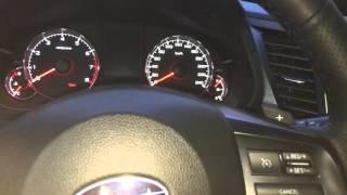 Subaru outback 2013 пуск -28 idemitsu 5w30