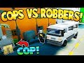 LEGO COPS AND ROBBERS! - Brick Rigs Gameplay - Candy Heists & Police Chases! - User Creations