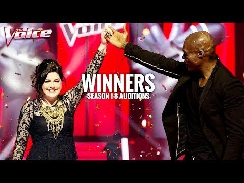 THE VOICE AUSTRALIA WINNERS SEASONS 1-8 BLIND AUDITIONS