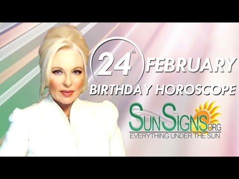 Birthday February 24th Horoscope Personality Zodiac Sign Pisces Astrology