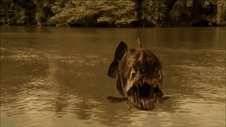 Gambar cover Mega Piranha - Trailer