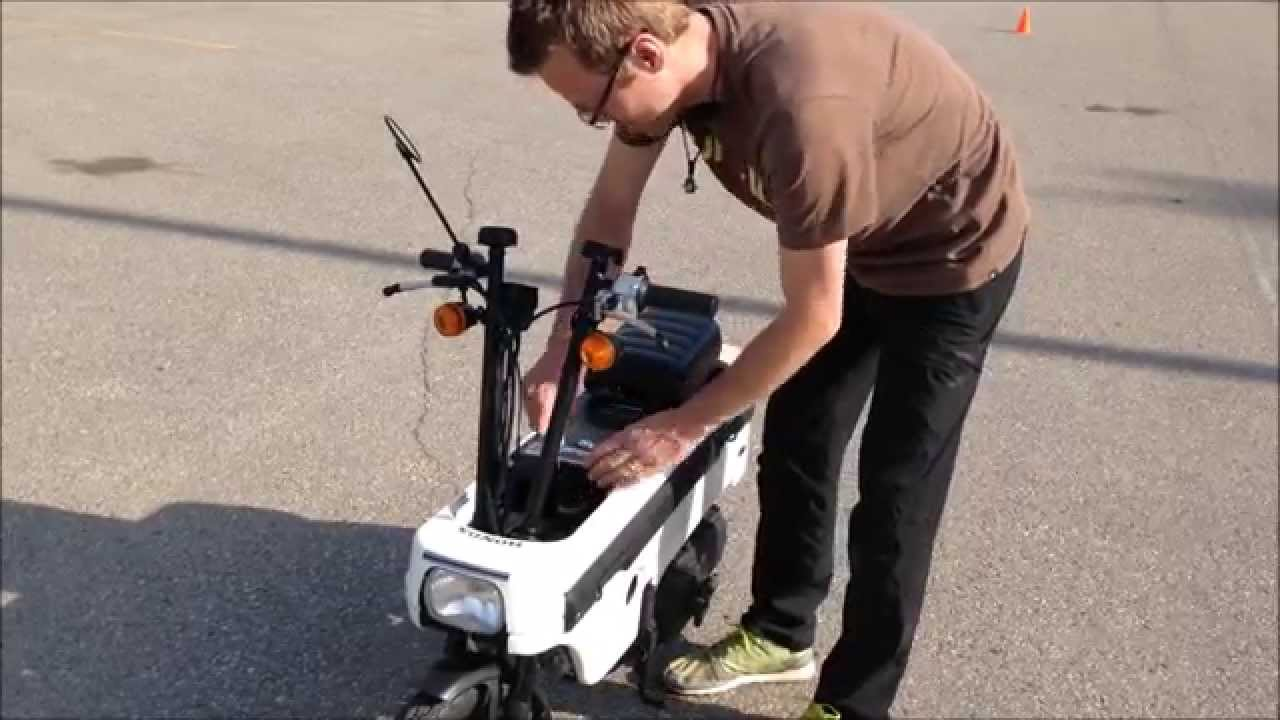 Worlds Smallest Street Legal Motorcycle Youtube
