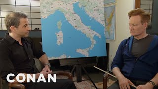 Conan surprises fake Italian and real CONAN employee Jordan Schlansky with a trip to Italy. #ConanItaly premieres April 11th at 10/9c on TBS. More CONAN ...