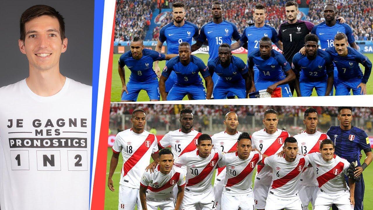 Pronostic france perou coupe du monde 2018 youtube - Pronostic coupe de france ...
