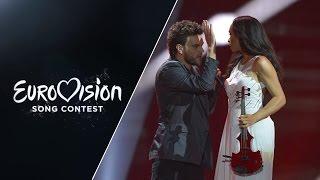 Uzari&Maimuna - Time (Belarus) - LIVE at Eurovision 2015: Semi-Final 1