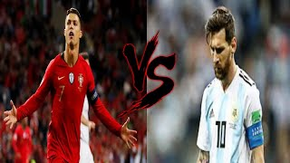 Португалия Аргентина Роналду vs Месси